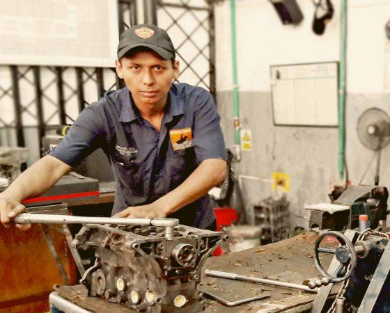 Comprobación de Motores